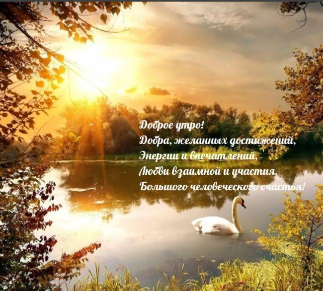 С добрым утром — природа