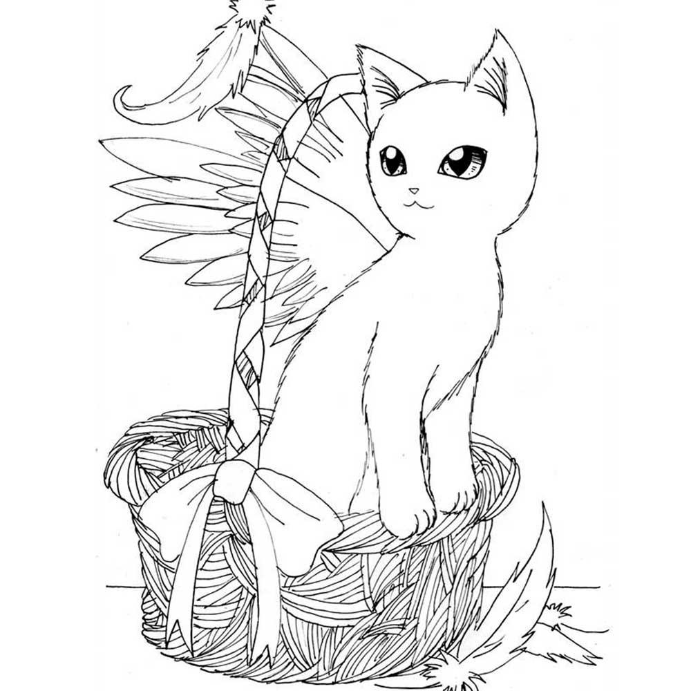 Рисунок кошки. Картинки нарисованных кошек