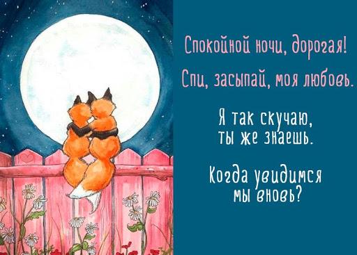 Спокойной ночи, любимая