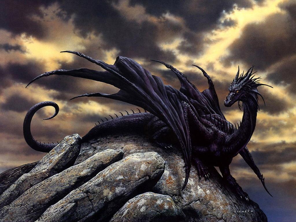 Красивые картинки драконов