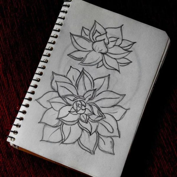 Легкие рисунки для скетчбука: 205 картинок для срисовки