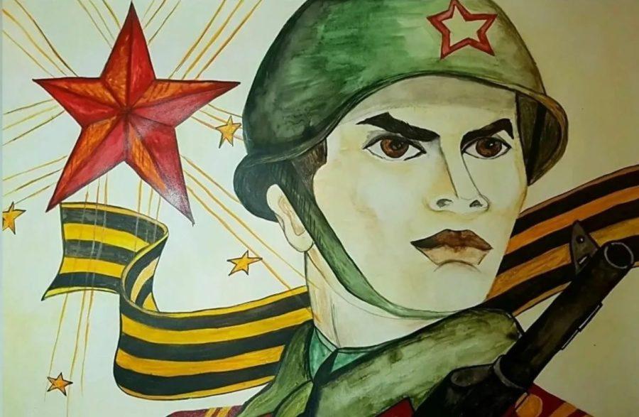 170 рисунков о войне
