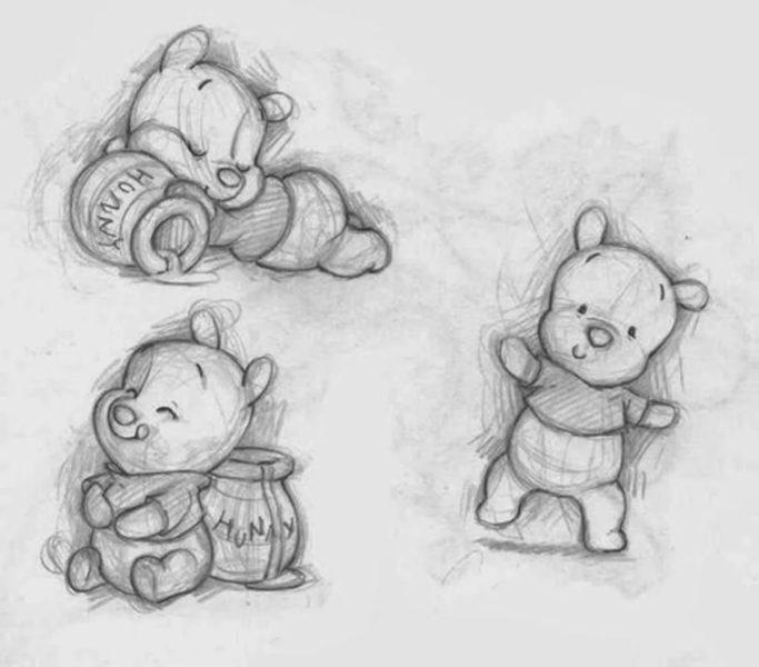 200 мини рисунков для срисовки: легкие и красивые