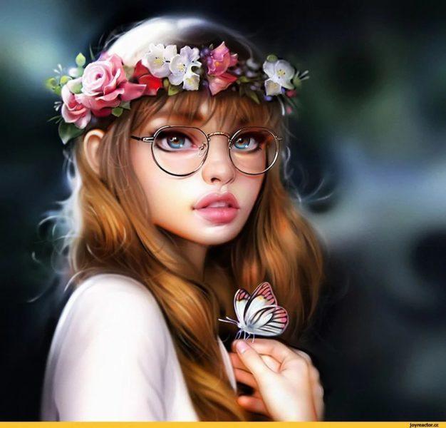 250 картинок на аватарку для девушек