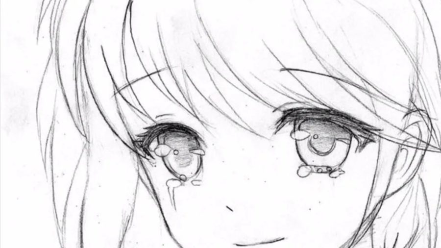 350 аниме рисунков для срисовки